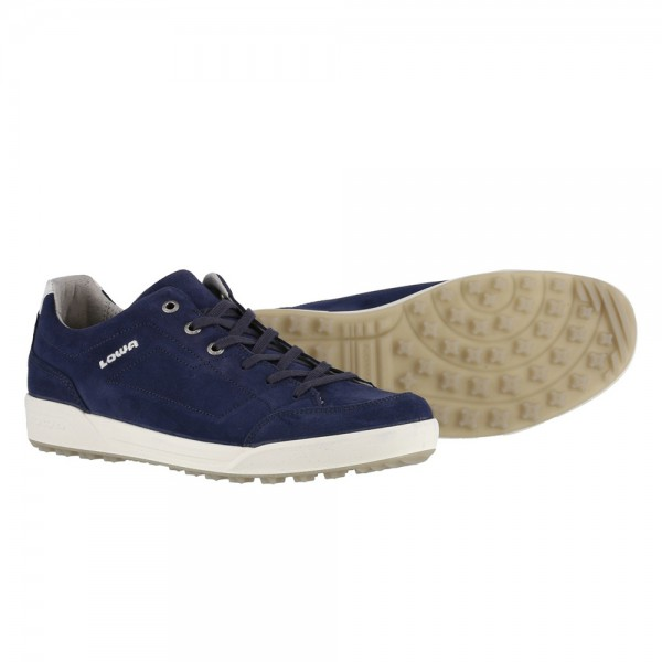 Lowa Palermo Outdoor Travel Shoes-Navy Blue