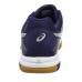 Asics Gel Rocket 8 Indoor Court Shoes-Indigo Blue, Silver & White